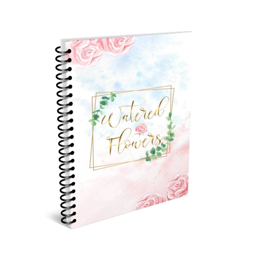 Watered Flowers Journal
