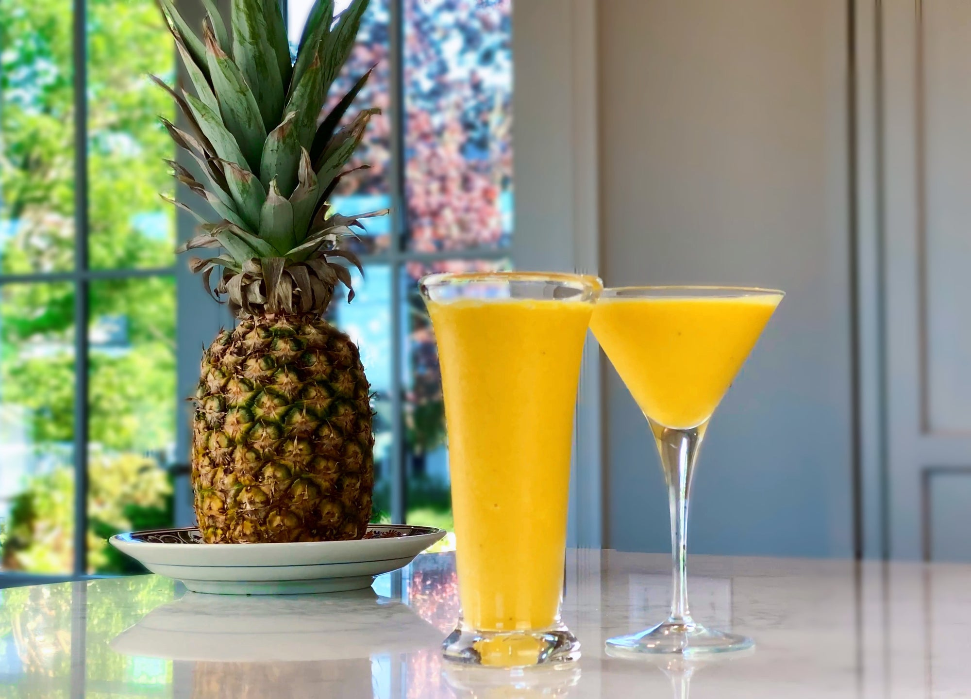 Pineapple, Ginger, and Turmeric Smoothie