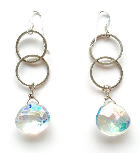 Moonstone Quartz Earrings