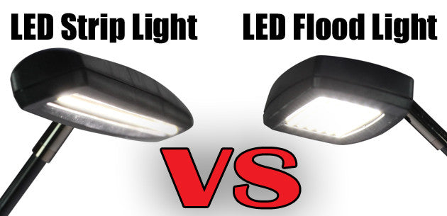 Choosing Trade Show Lights: LED Strip Lights VS LED Flood Lights