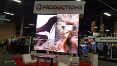4 Productions Display at EXHIBITORLIVE