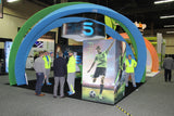 Soccer Trade Show Display
