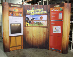 Custom Coyote Agriculture Display