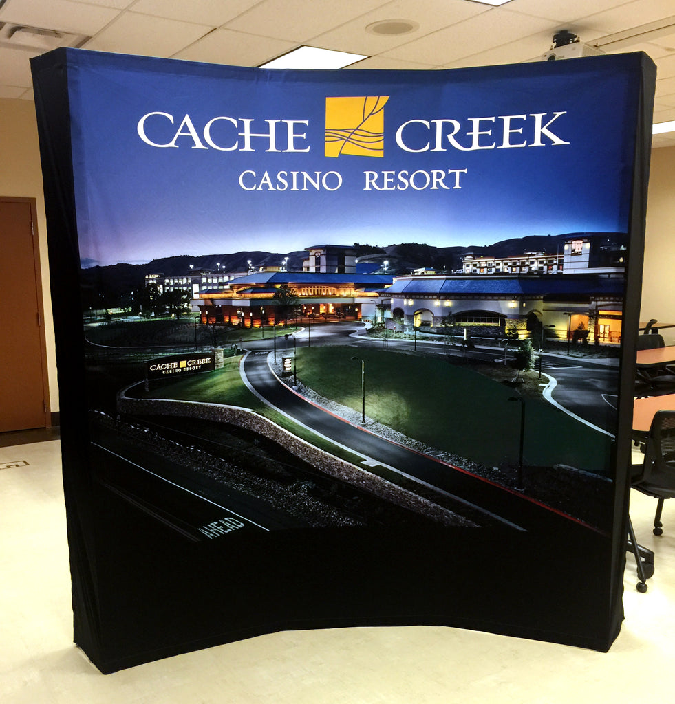 Cache Creek Custom Hop-Up Trade Show Booth