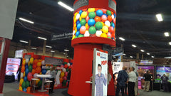 Gumball Display from EXHIBITORLIVE