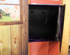 Custom Trade Show Booth Opening Fridge Door