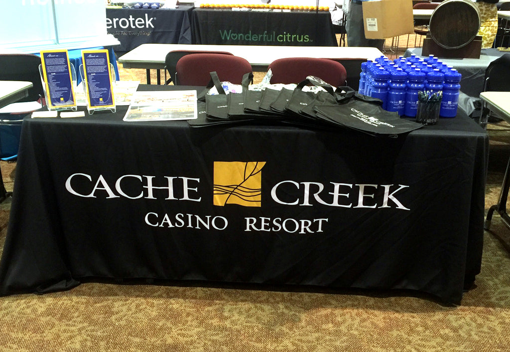 Custom Logo Table Cover - Cache Creek