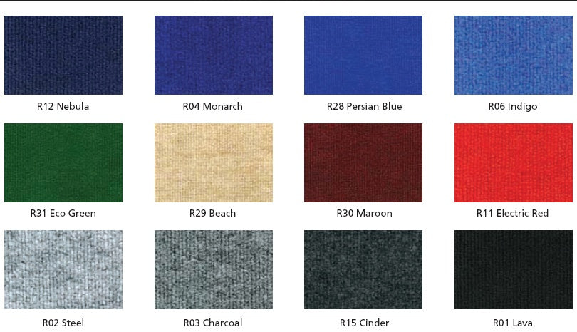 Fabric Panel Color Options