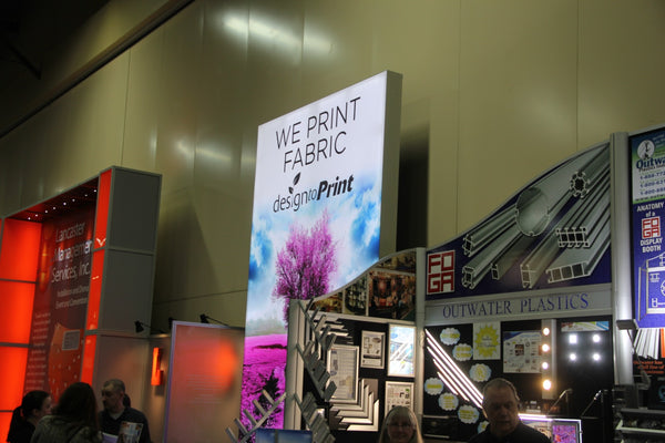 Trade Show Display Headline for Graphic Printing