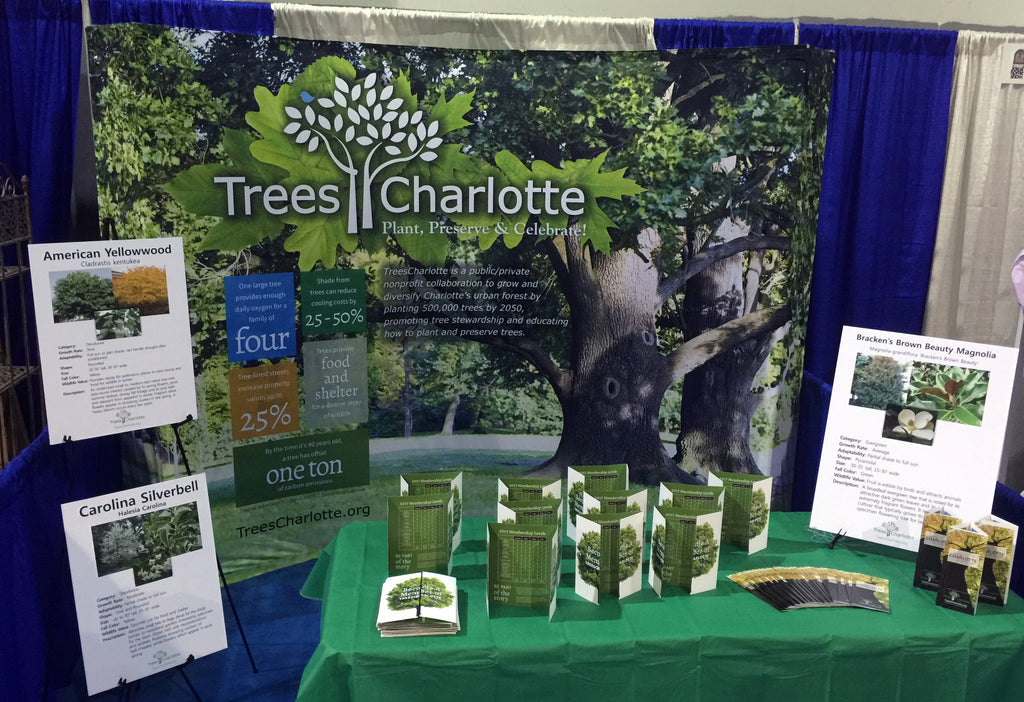 Trees Charlotte Trade Show Display