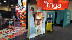 Triga Light Boxes at EXHIBITORLIVE 2017
