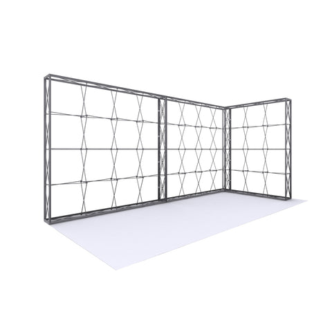L-Shaped Tension Fabric Display Frame