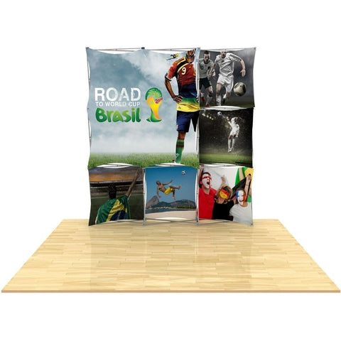 3D Snap Pop-up Floor Display