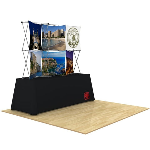 3D Snap 3x2 Table Display Design