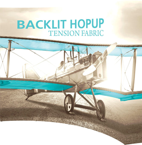 10' Backlit Hopup Booth