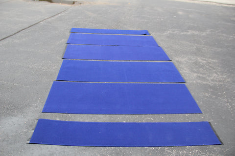 Nomadic Neptune Popup Fabric Panels - Monarch Blue - Frontrunner Fabric