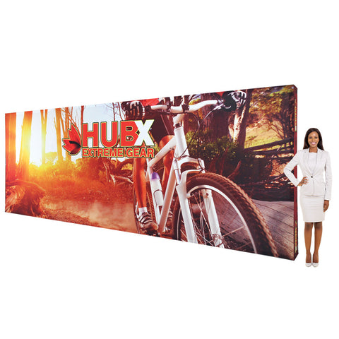 20 ft Fabric Pop Up Display - Straight Graphic Package