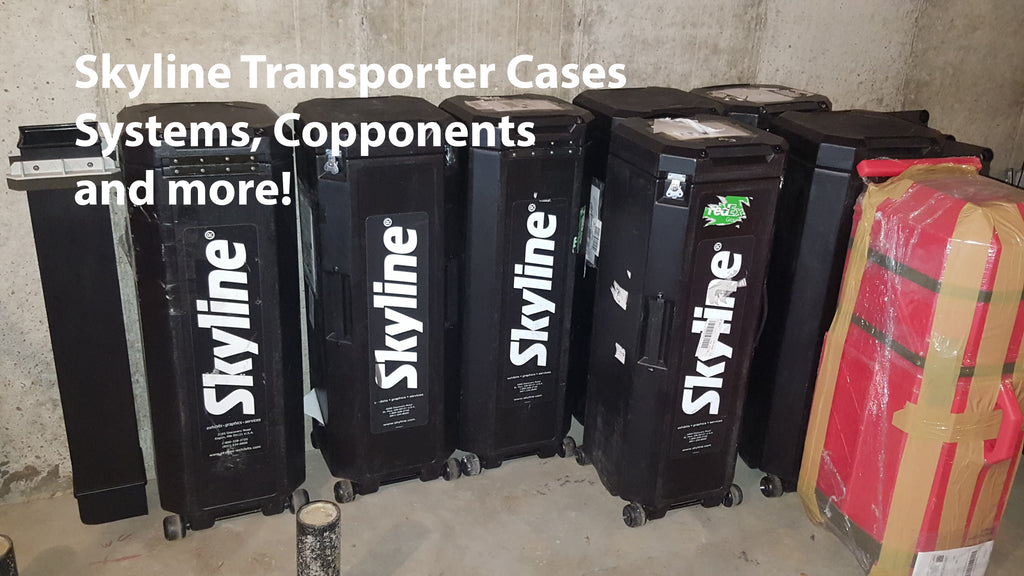 Skyline Mirage Transporter Trade Show Carrying Case Used