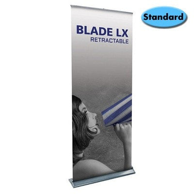 Blade LX Trade Show Banner Stand