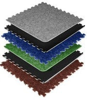Carpet Tile Trade Show Flooring 10x10 Charcoal