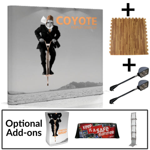 Coyote Pop-up Display Kit - 8'