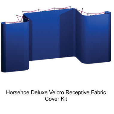 Trade Show Coyote Horseshoe Deluxe Velcro Cover Kit