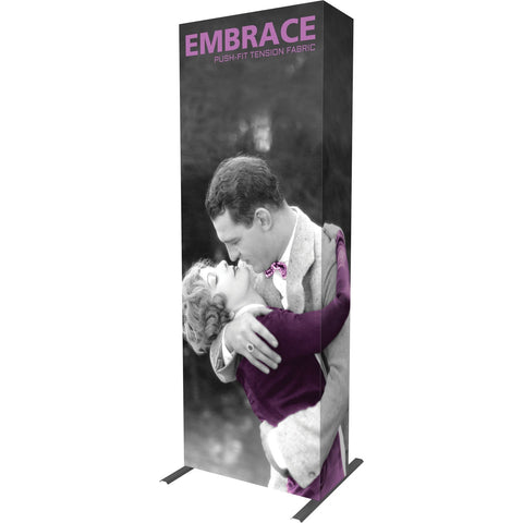 Embrace Push-fit 1x3 Tower Tension Fabric Display
