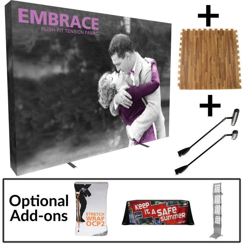 Embrace 8' Fabric Wall Display Starter Kit