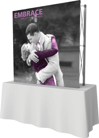 Embrace Push-fit 2x2 Display - No Endcaps