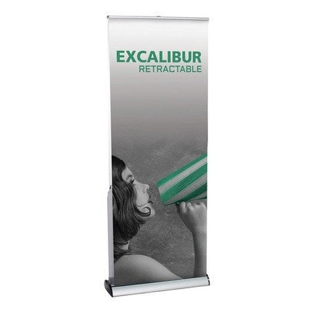 Excalibur Trade Show Banner Stand - Full View