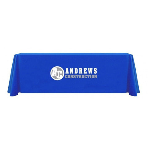 express-scan-blue-table-throw