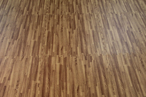 Faux Wood Interlocking Flooring Grain