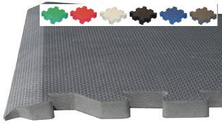 Beveled Interlocking Foam Flooring Tiles