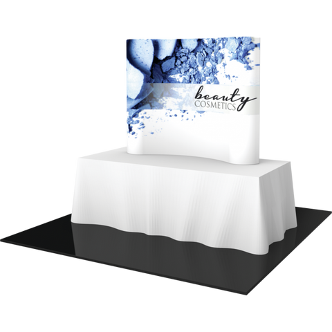 Formulate Table Top Display - Curved