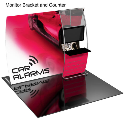 Formulate Trade Show Display - Monitor and Counter
