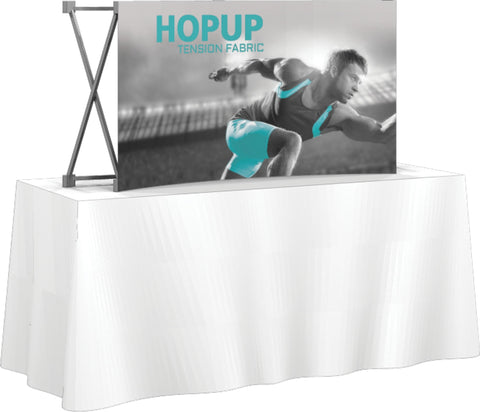 HopUp Table Top Display - Curved