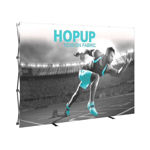 HopUp 10ft Tension Fabric Display - Straight