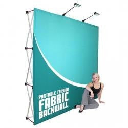 HopUp 8ft Trade Show Display