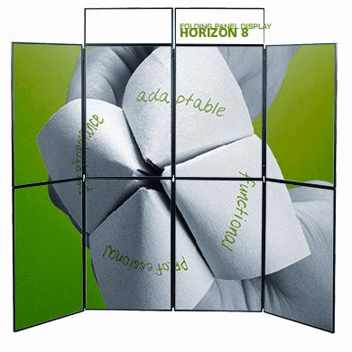 Horizon 8 Fabric Panel Trade Show Display