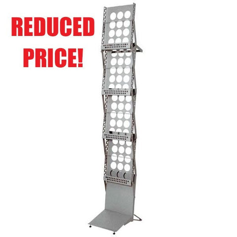 Reduced Price Illusion Literature Rack