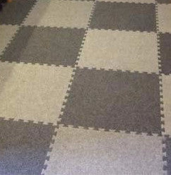 Carpet tile Trade Show Flooring 10x20 Charcoal