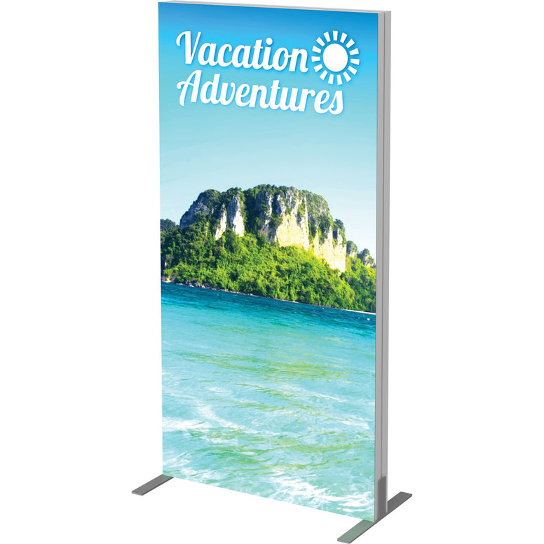 Vector Frame Tension Fabric Light Box Tower Display