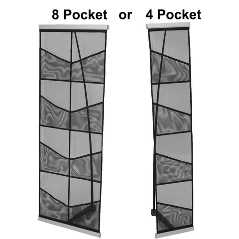L1 Fabric Literature Rack - 4 and 8 Pocket Variations
