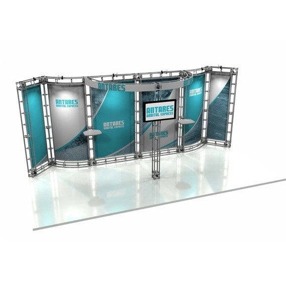 Trade Show Orbital Express Truss System Antares Front Right 20'
