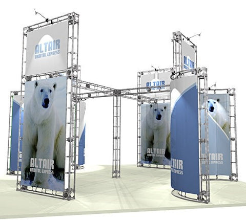Trade Show Orbital Express Truss System Altair Front Side 20'