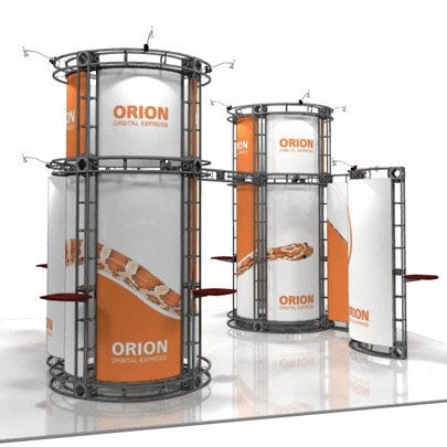Trade Show Orbital Express Truss System Orion Side 20'