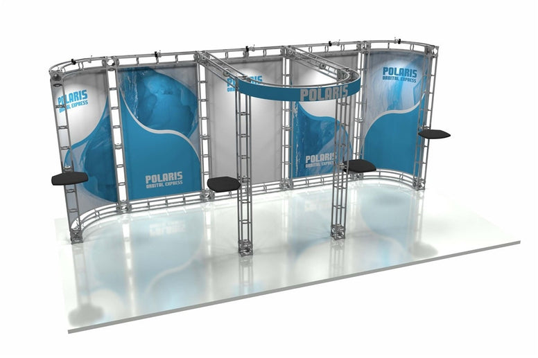 Trade Show Orbital Express Truss System Polaris Front 20'