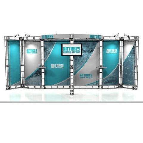 Trade Show Orbital Express Truss System Antares Front 20'