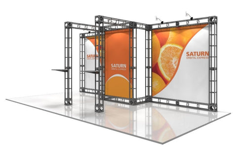 Trade Show Orbital Express Truss System Saturn Front Right 20'