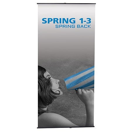 Trade Show Spring 1-3 Banner Stand Front